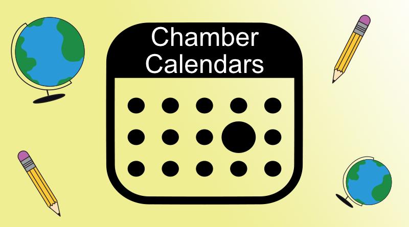 August Chamber Calendar