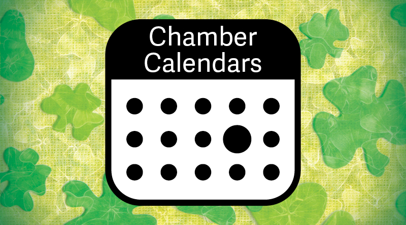 Graphic for Chamber Calendar March 2020