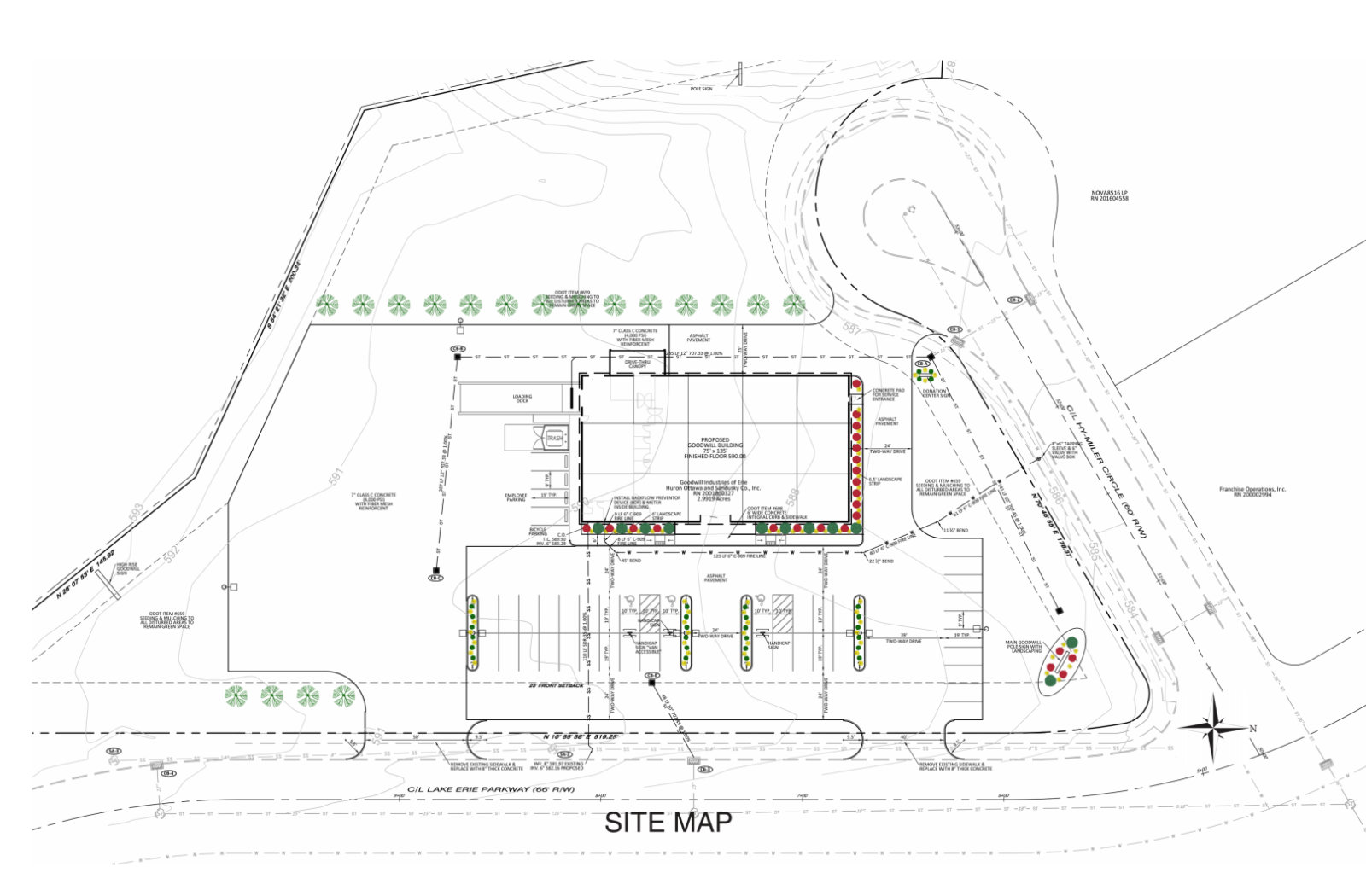 Goodwill Site Map