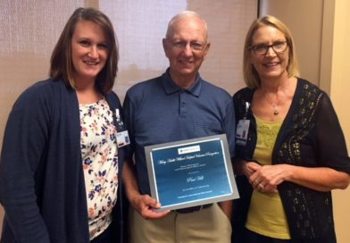 Paul Hill recognized with Volunteer Excellence Award