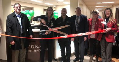 Ribbon cutting for new birthing center at ProMedica Hospital