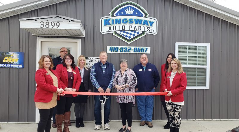 Kingsway Auto Parts LLC celebrates expansion with ribbon cutting