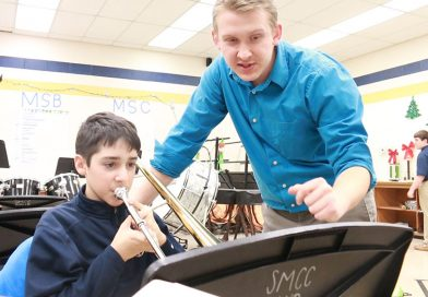 The show must go on; Teacher uses technology to give seniors spring musical