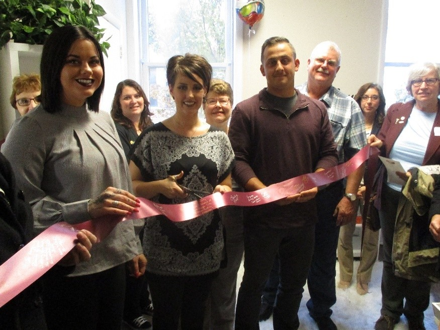 Seneca Ribbon Cuttings - Airbrush