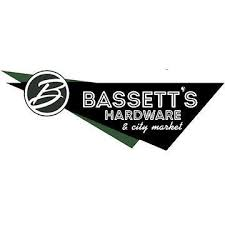 Bassett's Hardware and market